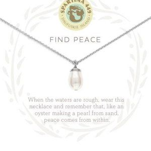 SPARTINA 449 - Find Peace Pearl Necklace - NEW